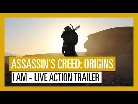 Assassin's Creed Origins : I AM Live Action Trailer [OFFICIEL] VF HD