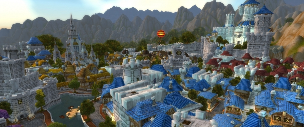 Bannière - Film Warcraft : Balade au-dessus de Hurlevent