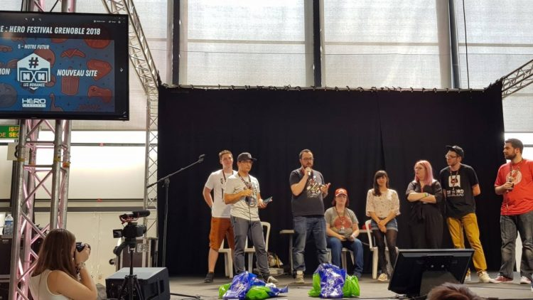 Les No Names sur scène au HeroFestival Grenoble