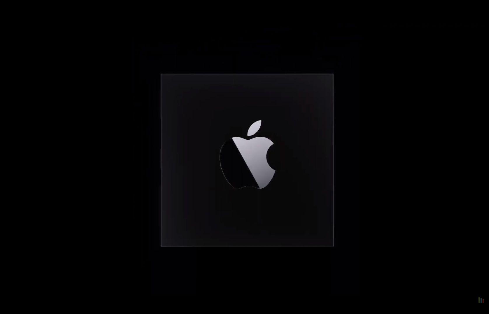 Logo des nouveaux processeurs Apple